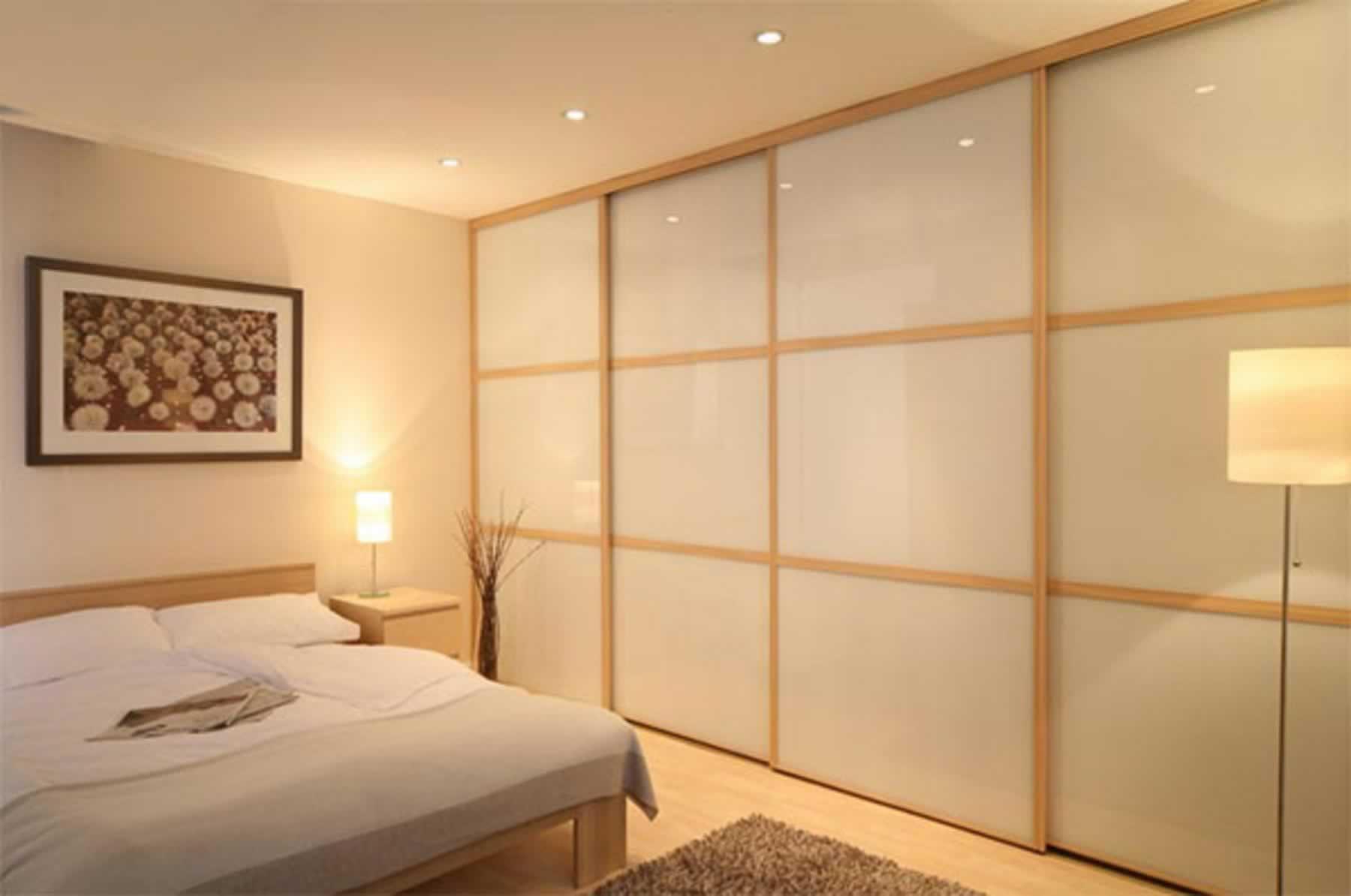 Встроенный шкаф в стену дизайн